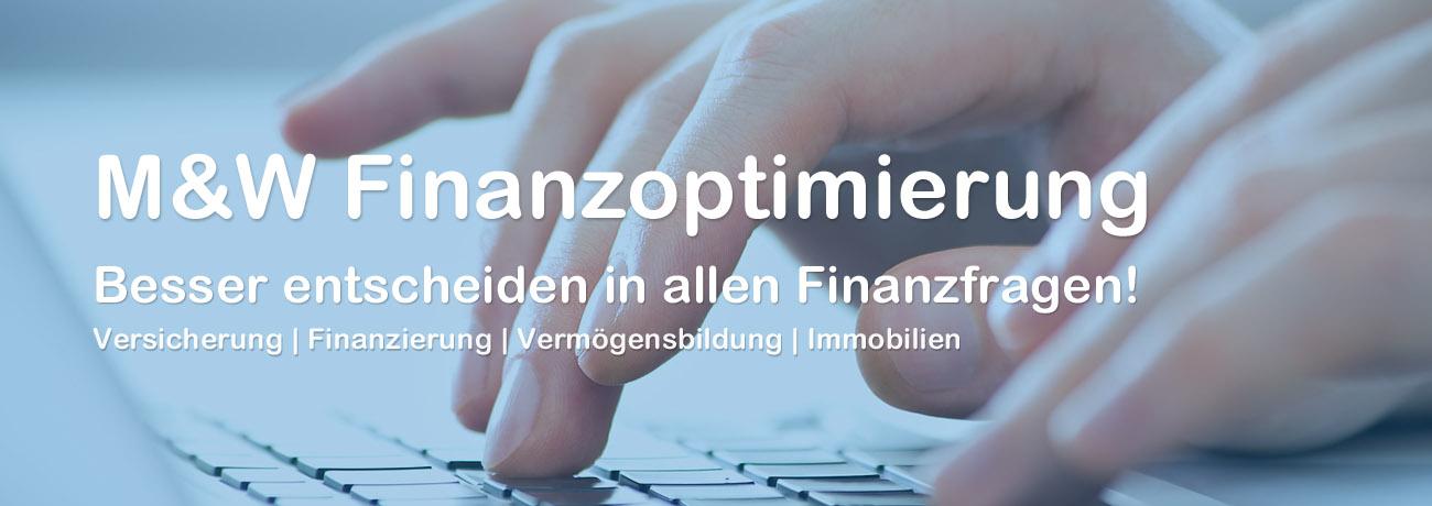 Finanzoptimierung und Finanzberatung Berlin Titelbild